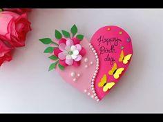 Beautiful Birthday card idea-DIY Greeting Cards for Birthday. Diy 80th Birthday Card, Diy Greeting Cards For Birthday, Creative Birthday Cards, Birthday Card Drawing, Beautiful Birthday Cards, Handmade Birthday Cards, Happy Birthday Cards, Greeting Cards Handmade, Birthday Kids