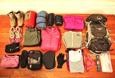 Here is a final roundup for a one week packing list for both the Inca Trail to Machu Picchu and the rest of the trip in Cusco, Peru.