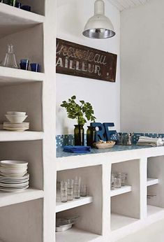 #interiors #shelves in #masonry