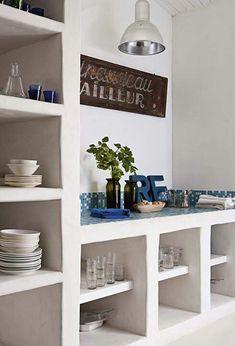 #interiors #shelves in #masonry