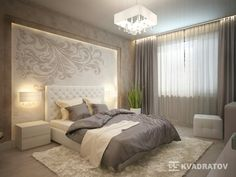 See more ideas about Bedroom decor, Modern bedroom and Bed design. Master Bedroom Design, Dream Bedroom, Home Bedroom, Modern Bedroom, Bedroom Decor, Trendy Bedroom, Bedroom Designs, Bedroom Ideas, Grey Side Table