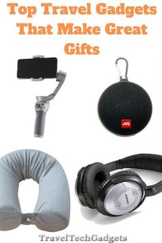 Top 10 Travel Gadgets That Make Great Gifts |Travel Tech Gadgets Best Travel Gadgets, Fun Gadgets, Tech Gadgets, Van Camping, Camping Gear, Travel Accessories For Men, Mens Travel, Kids Boxing, Travel Gifts