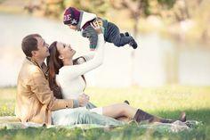 Семейная съемка на природе