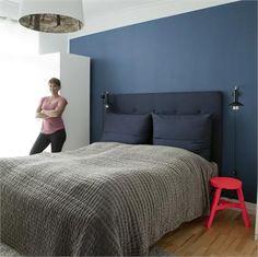 Polstret sengegavl DIY fra Hotsweetspot newsletter2012