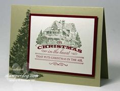 stampin up christmas craft ideas | Stampin' Up! - Christmas Lodge - Heart of Christmas | Craft Ideas