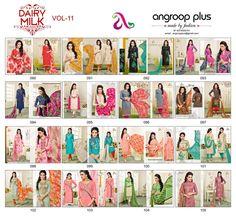 #Eid Latest #DesignerCollection #DairyMilkVol.11 #Suit #DressMaterials #SalwarKameez here #online #Buy #ShopNow..