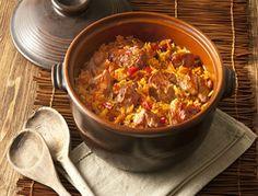 Παραδοσιακή Συνταγή για κριθαράκι με μοσχάρι