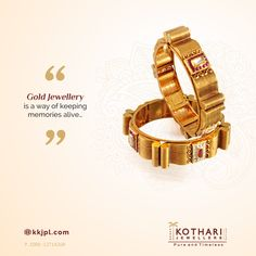 Karan Kothari Jewellers is an award-winning jewelry store based in Central India. Quartz Jewelry, 14k Gold Jewelry, Antique Jewelry, Gold Bangles, Bangle Bracelets, New Gold Jewellery Designs, Wholesale Gold Jewelry, Jewellery Sketches, Pure Products