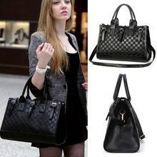 2014 Nové ženy messenger tašky dámske kabelky dámske kožené kabelky ženy Black 2014 peňaženky a kabelky B16 SV000662 (Čína (pevninská časť))