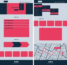 Gestalt principles in UI design. – Muzli -Design Inspiration - We can use the Common Fate principle in expandable menus, accordions, tool-tips, product sliders, parallax scrolls and swiping indicators. Ui Design, Minimal Web Design, Graphic Design Tips, Page Design, Layout Design, Interior Design, Creative Presentation Ideas, Presentation Design, Mobile Ui Patterns