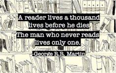 A reader...