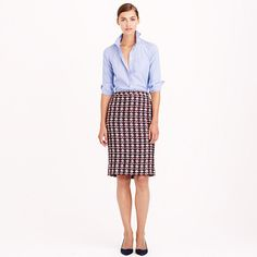 J.Crew tweed skirt: http://www.shopstyle.com/action/loadRetailerProductPage?id=459410723&pid=uid5321-6516611-32