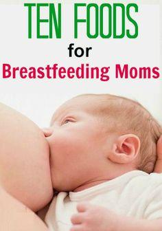 10 Best Foods For Breastfeeding Moms
