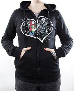 Nightmare Before Christmas Hoodie  a must have staple in any wardrobe