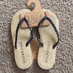 NWT billabong sandals NWT billabong braid sandals Billabong Shoes Sandals