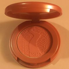 Tarte blush mini Tarte amazonian clay 12-hour blush in the color Blissful, a peachy pink shade. Travel size mini. Net wt 1.5 g / 0.05 oz NEW, never used, no tag. tarte Makeup Blush