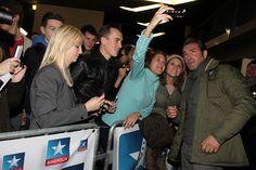 Jean Dujardin, Gilles Lellouche et Cédric Jimenez à #Kinepolis Lomme pour l'avant-première La French - 18/11/14