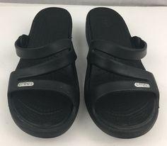 Crocs Sanrah METAL-Bloc Flat Flip multi METAL//ARGENT Croslite normal