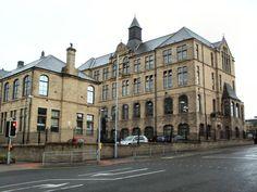 Grammar School, Bradford, Louvre, Street View, Building, Travel, Viajes, Buildings, Destinations