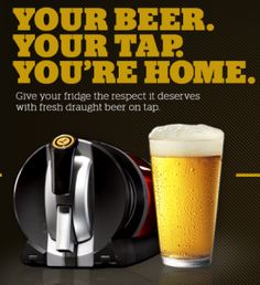 If you have a beer lover on your list, this gift is a MUST!  Draftmark Tap System!