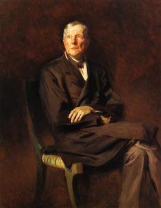 The Athenaeum - John D. Rockefeller (John Singer Sargent - ) 1917