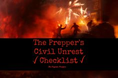 More and more over the past few years, we've seen civil unrest erupt right here in the streets of America. Here's what you need to do to be ready.