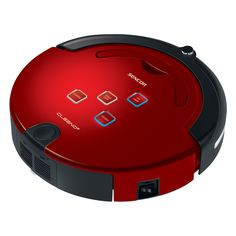 Robotic Vacuum Cleaner SVC 9020RD CLEENO - UV lamp for killing bacteria - Anti-impact front sensor - Triple rotary brush system