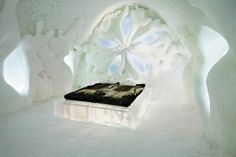 Schlafen im Eishotel