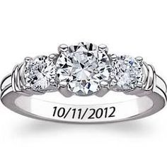 promise rings for her - Google Search  so precious, the engrave