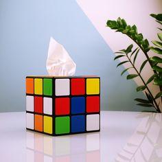 Wohnen - Rubiks Würfel Taschentuchbox aus Big Bang Theory - Für kältebedingte Aggregatszustände.