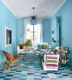 Tour a Moroccan Home Filled with Pattern and Color — Elle Decor