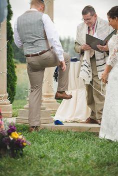 Traditional Jewish ceremony, Luke & Ariel's Wedding Wedding photos shot by Hitch and Sparrow Wedding Co.