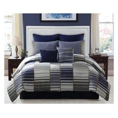 I found this amazing 8-Piece Set: 100% Cotton Denim Comforter Ensemble at nomorerack.com for 70% off. Sign up now and receive 10 dollars off your first purchase
