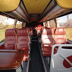 Tour Bus Interior On Pinterest Bus Conversion Luxury Rv And Rv Bathroom