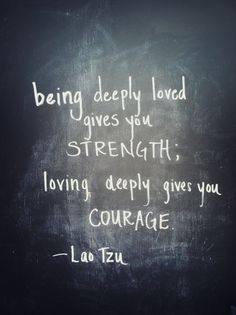 #strength & #courage