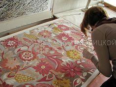 Курсы батика Музы Кирницкой / Silk painting workshops / батик, курсы батика, шелк, роспись по шелку, silk painting, batik, hand painted silk, silk painting workshop.