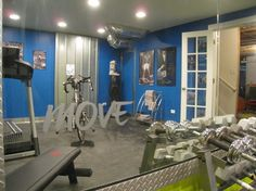 Eclectic Exercise Room Gym Design Ideas, Pictures, Remodel and Decor