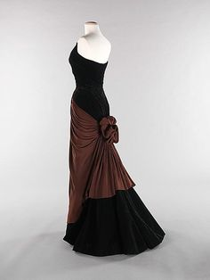 ~1947 Charles James~ He is by far my favorite vintage designer with Dior a close second!