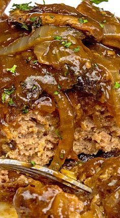 Chopped Sirloin Patties with Savory Gravy