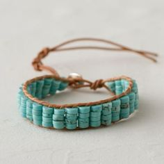 Turquoise Quartet Bracelet in Gifts Gifts for Her (and You) Bracelets + Rings at Terrain