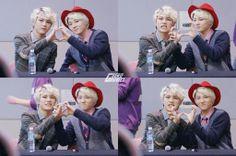 Xero and Hansol...so cute! <3
