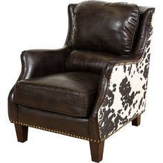 cow hide chair - Google Search