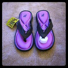 Flip flops Mem-dry foam flip flops Fila Shoes Sandals