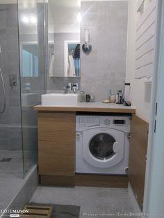 Rénovation d'une petite salle de bains, Coralie Balléry - Côté Maison