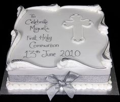 first communion cakes ideas | 1st communion cake | Party Ideas & Decor! | Pinterest