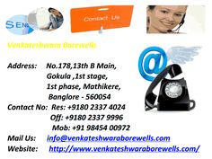 Borewell Services in Bangalore,Tubewell Drilling Contractors in Bangalore.pptx