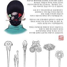 흑요석 search results on Grafolio Korean Traditional Clothes, Traditional Fashion, Traditional Dresses, Korean Hanbok, Korean Dress, Korean Outfits, Japanese Outfits, Korean Accessories, Korean Art