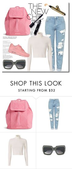 """""""teenage style"""" by elma-polyvore ❤ liked on Polyvore featuring Vera Bradley, Topshop, A.L.C., Gucci and NIKE"""