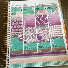 Second half of this week using the @nicolehutchdesigns kit! If you were like me and accidentally got the horizontal ombré heart checklists this is how they look in the vertical #erincondren. #nicolehutchdesigns #scribbleprintsco #scribbler #libbieandco #plannerkate #planner #planneraddict #plannerlove #plannernerd #plannercommunity #plannergoodies #weloveec #erincondrenlifeplanner by celina.hearts