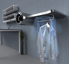 The Solo compact laundry system for all different clothes, specially designed by. - Home Technology Ideas Futuristic Technology, Home Technology, Technology Design, Technology Gadgets, Technology Integration, Green Technology, Compact Laundry, Innovation, Yanko Design